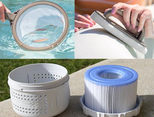 les accessoires indispensables pour votre spa gonflable intex