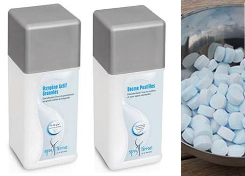 produits de traitement de l 39 eau pour spas gonflables. Black Bedroom Furniture Sets. Home Design Ideas