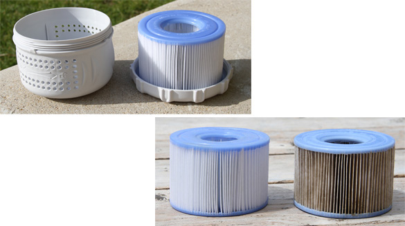 les cartouches de filtration des spas intex nettoyage et. Black Bedroom Furniture Sets. Home Design Ideas