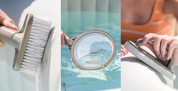 la d sinfection l 39 entretien le nettoyage de votre spa gonflable. Black Bedroom Furniture Sets. Home Design Ideas