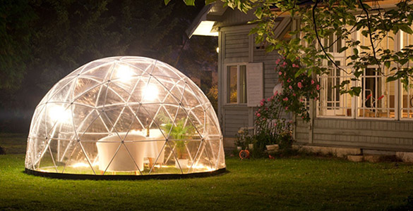 abri garden igloo pour piscines spas couvertures en option. Black Bedroom Furniture Sets. Home Design Ideas