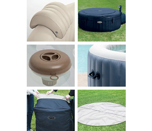 accessoires intex pure spa. Black Bedroom Furniture Sets. Home Design Ideas