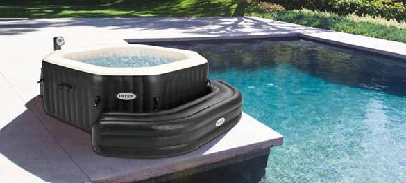 spa intex gonflable toute luquipe de jardidecofr et piscinecofr a test pour vous le montage du. Black Bedroom Furniture Sets. Home Design Ideas