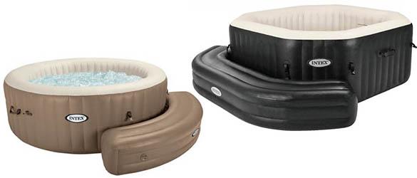 entourage gonflable pour tous mod les de spas gonflables intex. Black Bedroom Furniture Sets. Home Design Ideas