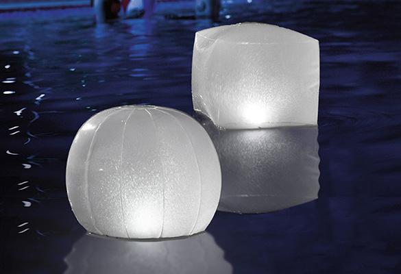 Spa Pour Lampe Led Votre Flottante Gonflable Jacuzzi IntexIlluminez DW29HIE