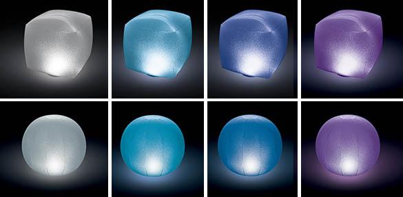 lampe led flottante pour spa gonflable intex illuminez votre jacuzzi. Black Bedroom Furniture Sets. Home Design Ideas