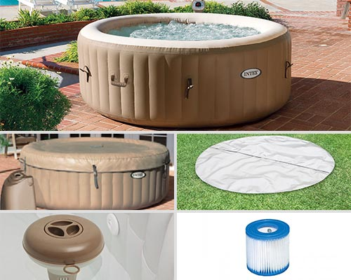 Spa gonflable intex bulles spa - Fonctionnement spa gonflable ...